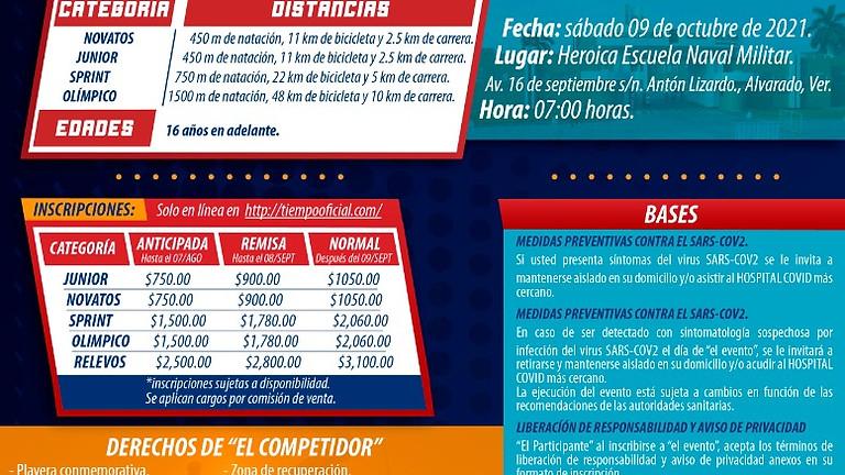 TRIATLÓN 200 AÑOS DE LA ARMADA DE MÉXICO