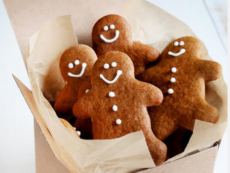 Kirsten's Holly Jolly Gingerbread Men (Wheat Free)