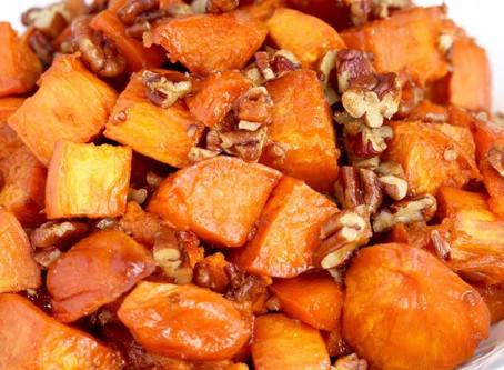 Warm Candied Yam Salad