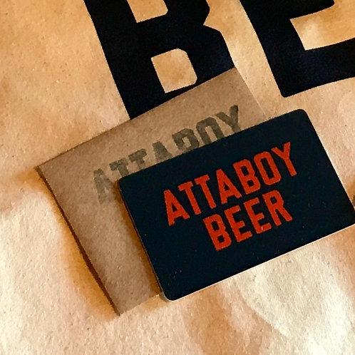$50 Attaboy Gift Card