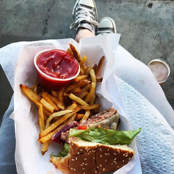 It's Friday!! Time for a burger and an Attaboy. Feeling like we earned it for sure this week