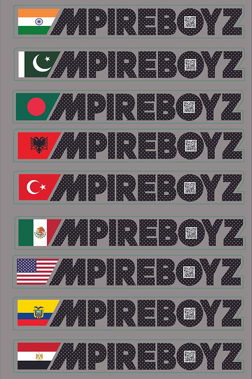 MPIREBOYZ COUNTRY STICKER
