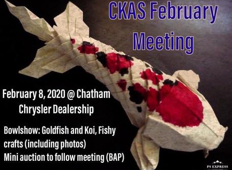 Chatham-Kent Aquarium Society News