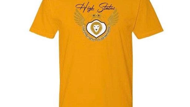 High Status Logo Tee Yellow