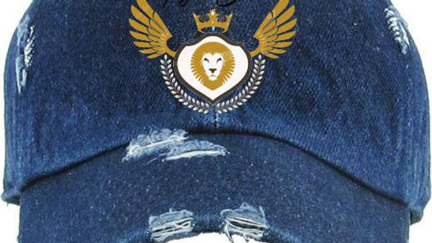 Distressed Logo Hat