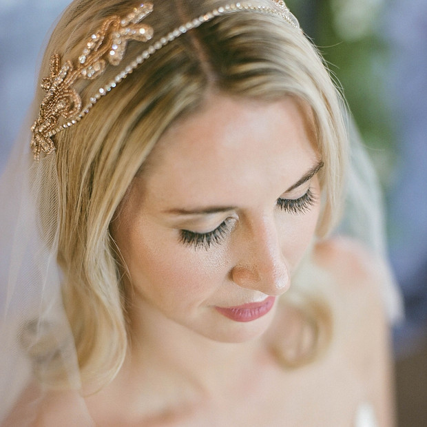 Melissa during her Bridal Photoshoot. Makeup: Charlotte Hunter.  Photographer: Jiza Zito. Hair: Desarae. Dress: Borrowing Magnolia. Veil: Gilded Shadows. Photo Development: The FIND Lab. Bouquet: Flower Girl Farmers.