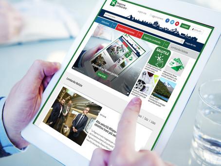 Regione Lombardia lancia il nuovo portale: semplice, responsive e innovativo