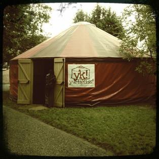 Ci serviva solo una Yurta!