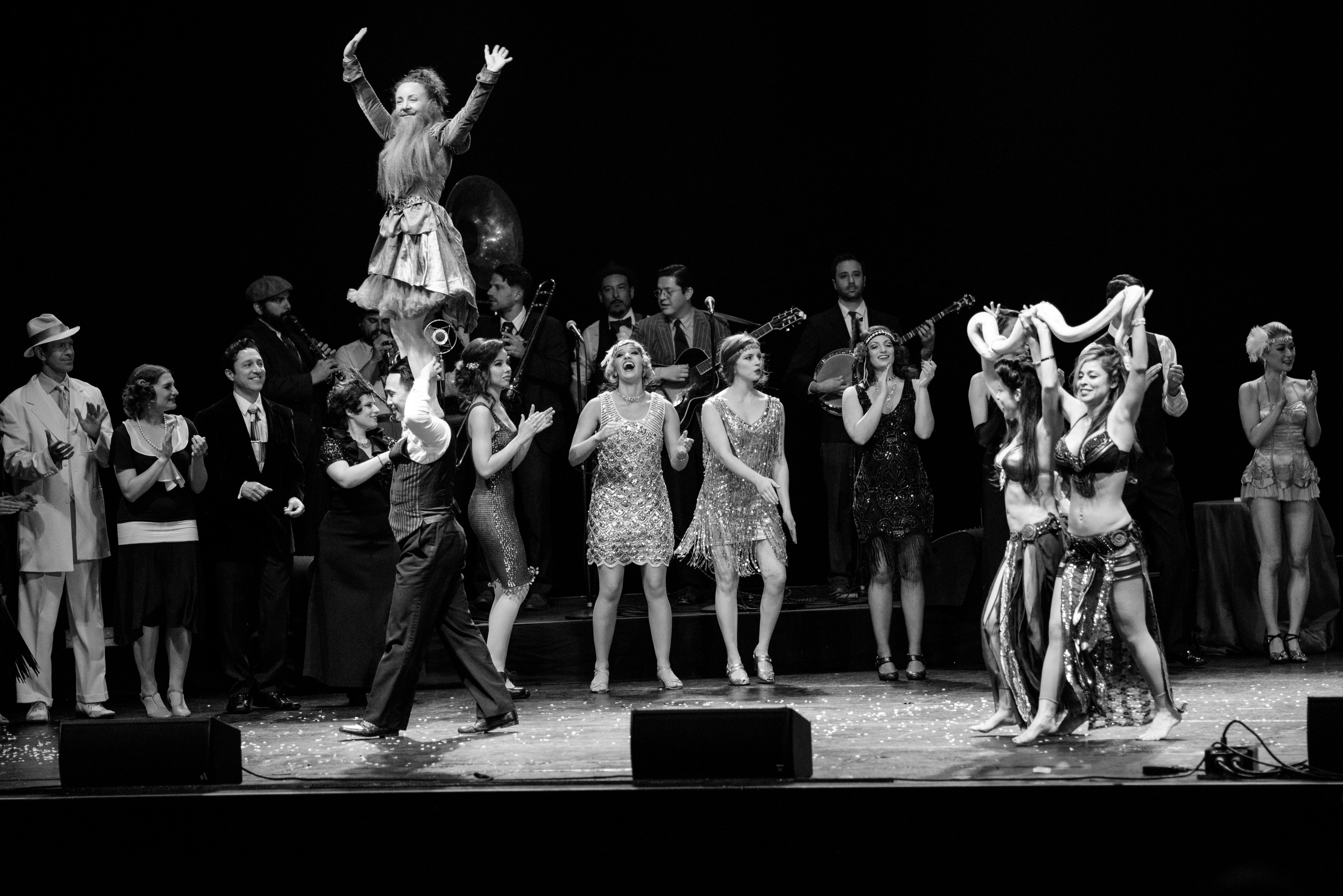 Vaudeville Cast!