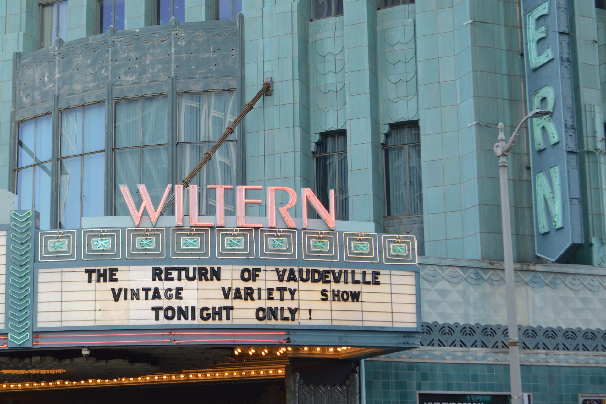 The Wiltern Marquee!