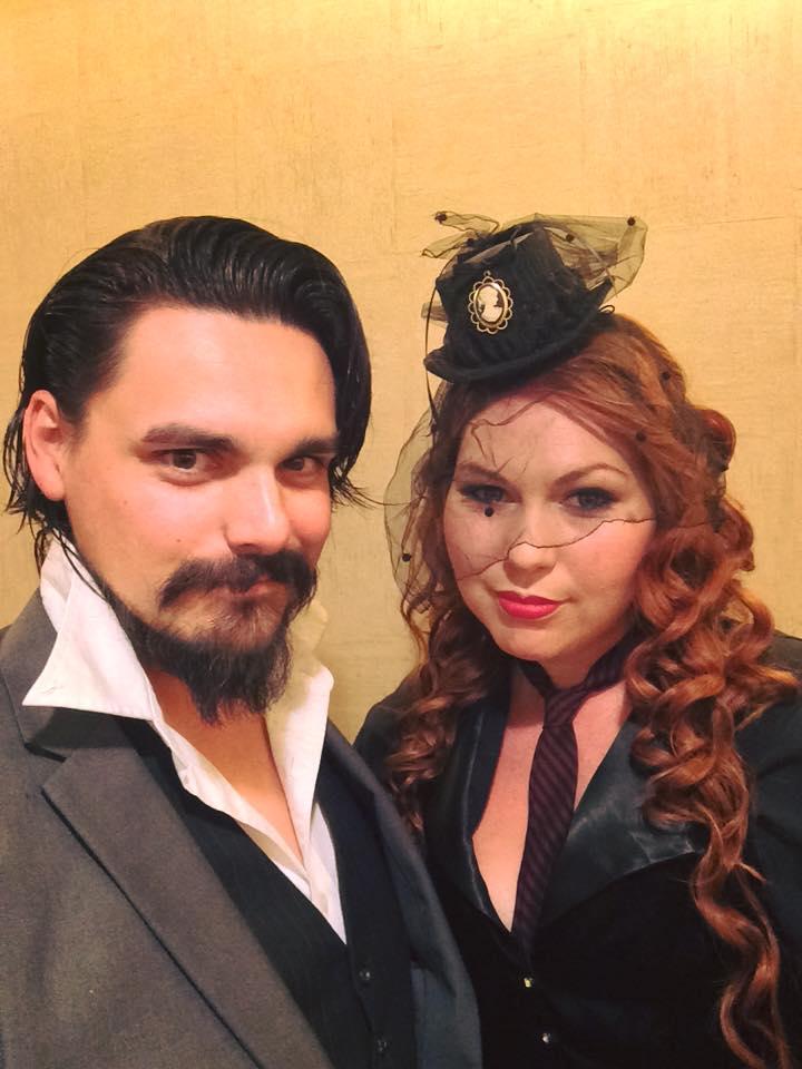 Dorian Grey & Wilhelmina Harker