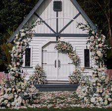 Ceremony Front Arch Decoration