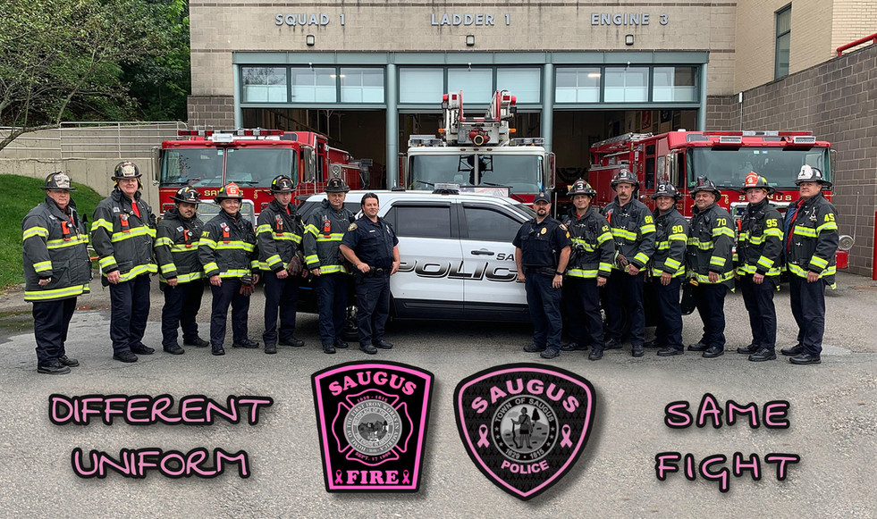 SPD and SFD Badge For A Cure!