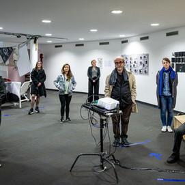 Anwesende Künstler und Kuratoren