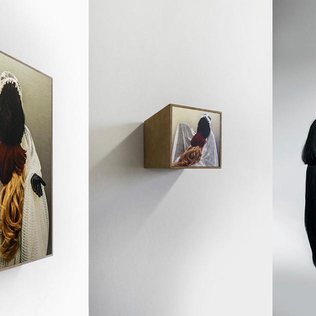 """Patricia Lincke, Deutscland, """"RADIKALE HÄUSLICHKEIT, Installation Fotografie HD-Film"""