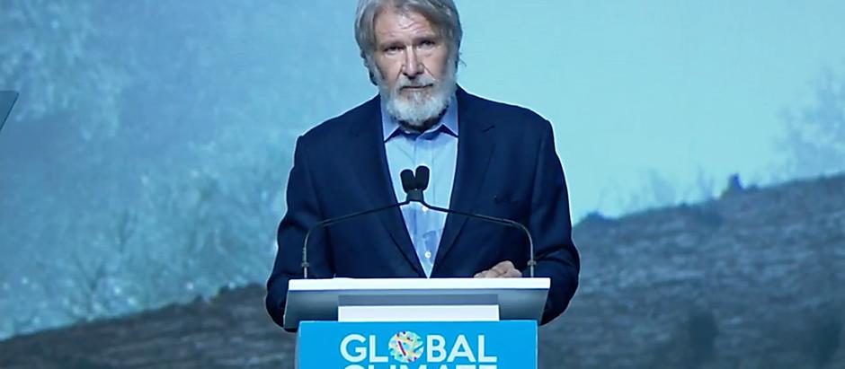 Harrison Ford hält emotionale Rede bei Klima-Gipfel