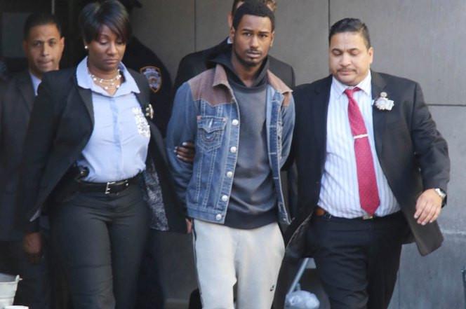 rapist in custody