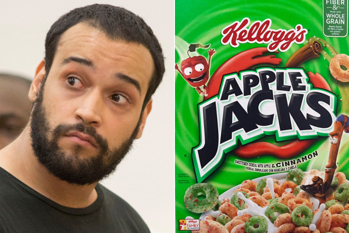man shipped heroin in cereal box
