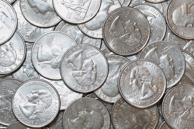 man stole 200,000 in quarters