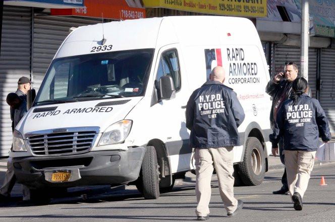 armored van heist