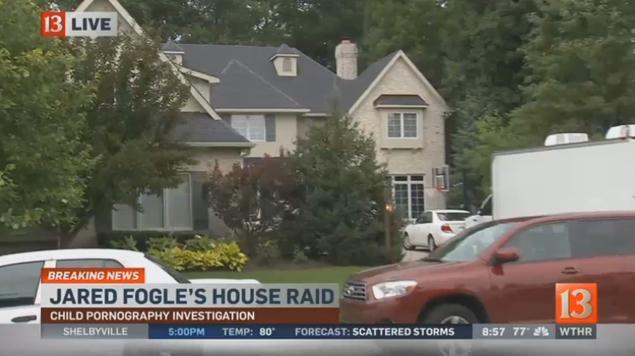 jared fogle house raid