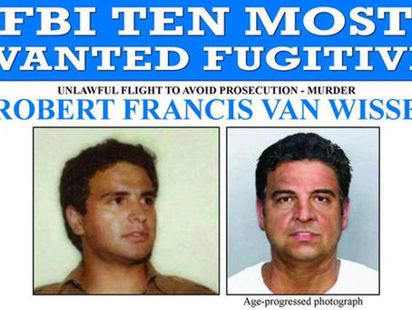"""FBI """"10 Most Wanted"""" Fugitive, Wanted in 1983 Slaying, Turns Self in"""