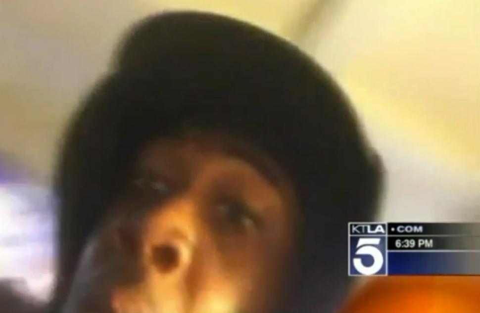 burglar takes selfie