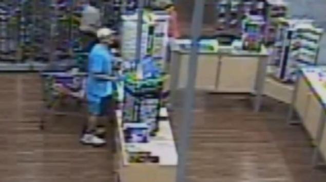scott birk shoplifting on camera