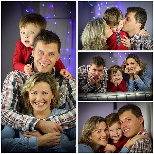 SÉANCE PHOTO EN FAMILLE EN STUDiO