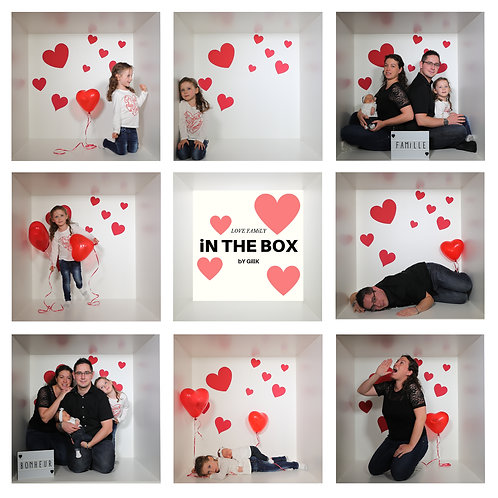 iN THE BOX bY GillK [2+1PERSONNE/ENFANT]