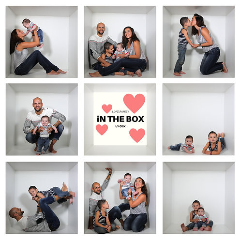 iN THE BOX bY GillK [2+2PERSONNE/ENFANT]