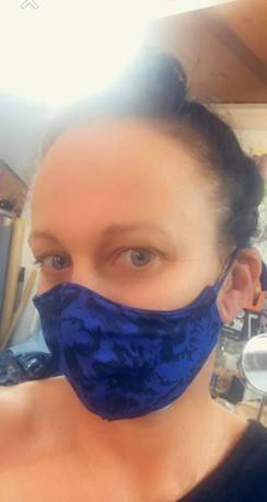 Masque Covid19 - Corona virus, réalisé par une couturiere