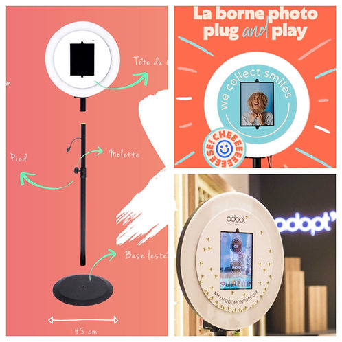 La BORNE A SELFIE ou PHOTO BOOTH