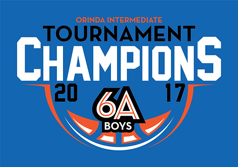 Orinda Intermediate Tournament Champions 6A Boys 2017