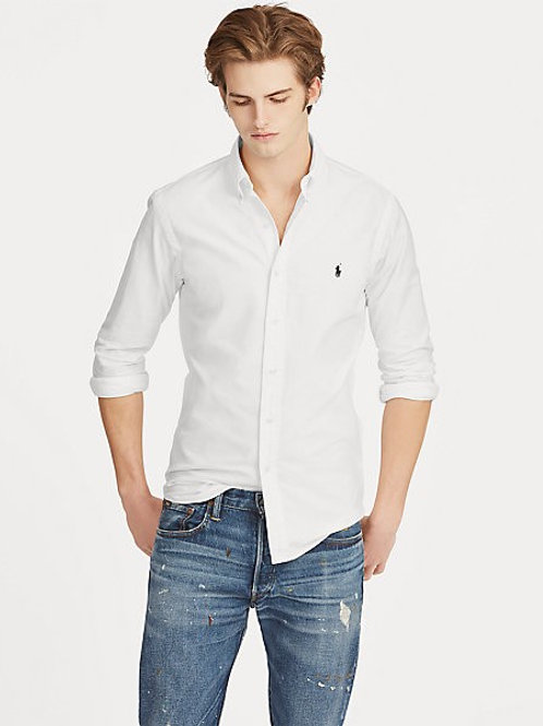RALPH LAUREN HEMD SLIM FIT PUREPRESS