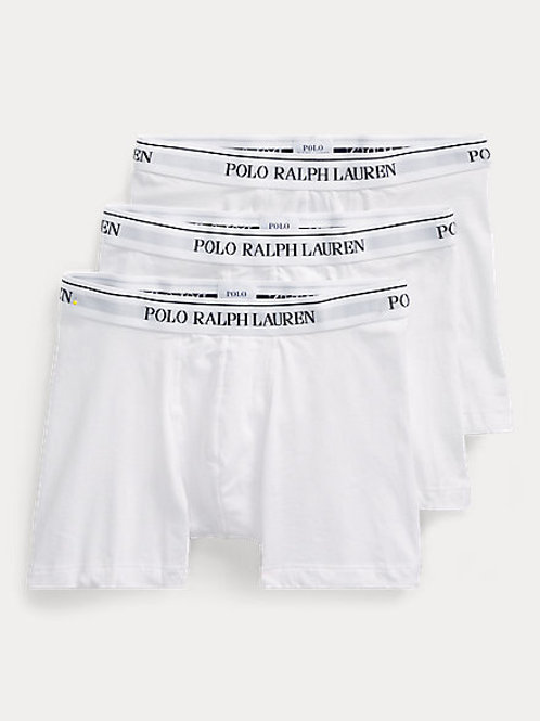RALPH LAUREN TRUNKS WHITE 3ST
