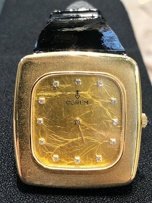 Corum Vintage Yellow Gold Diamond