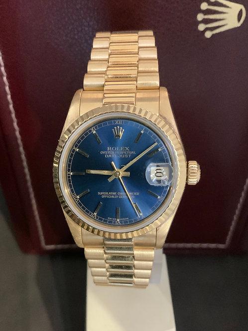 Rolex Datejust Gold - Full-Set