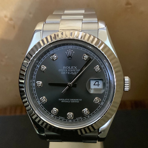 Rolex Datejust II - Brillant-Rhodium