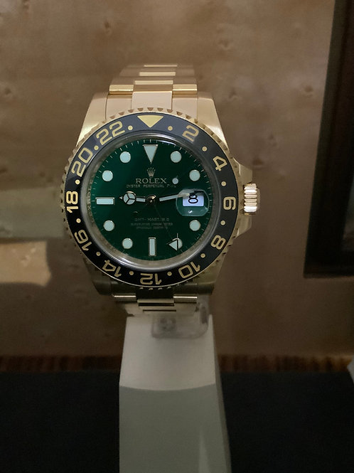 Rolex GMT-Master II - Gold-Green