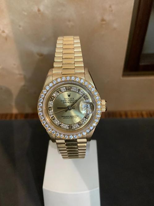 Rolex Lady-Datejust - Diamanten