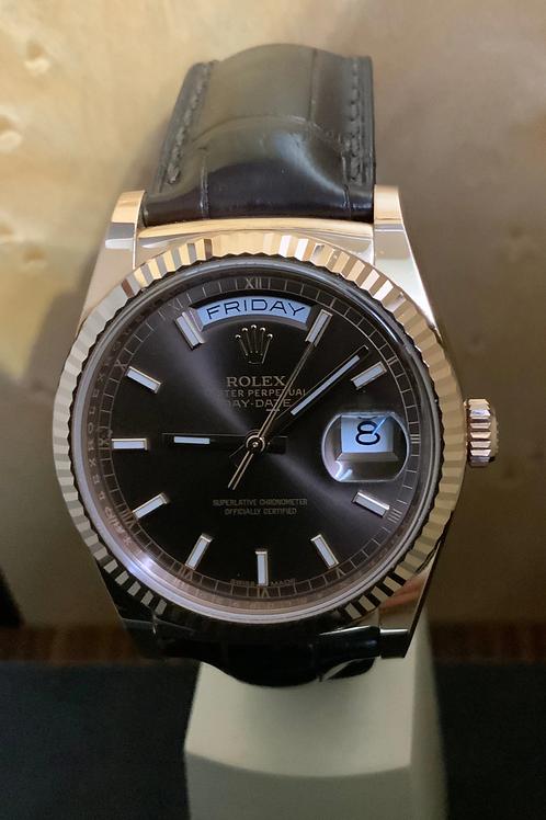 Rolex Day-Date Choco - 36 Rosegold
