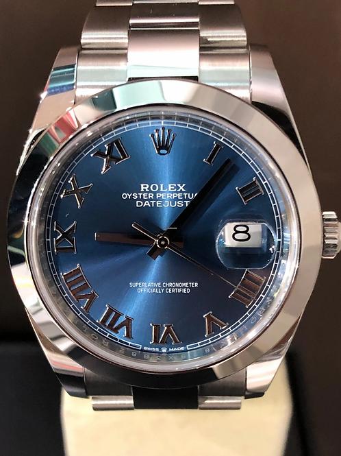 Rolex Datejust LC 100 - Blue