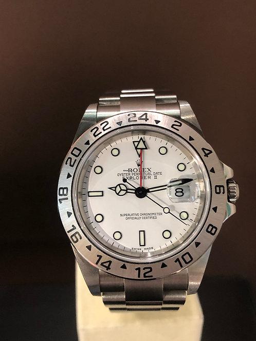 Rolex Explorer II Lc 100 - Weiss
