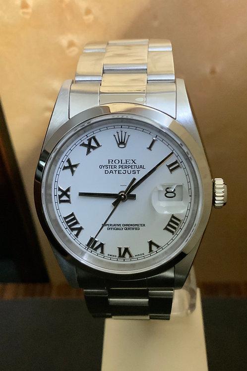 Rolex Datejust LC 100 - Weiss