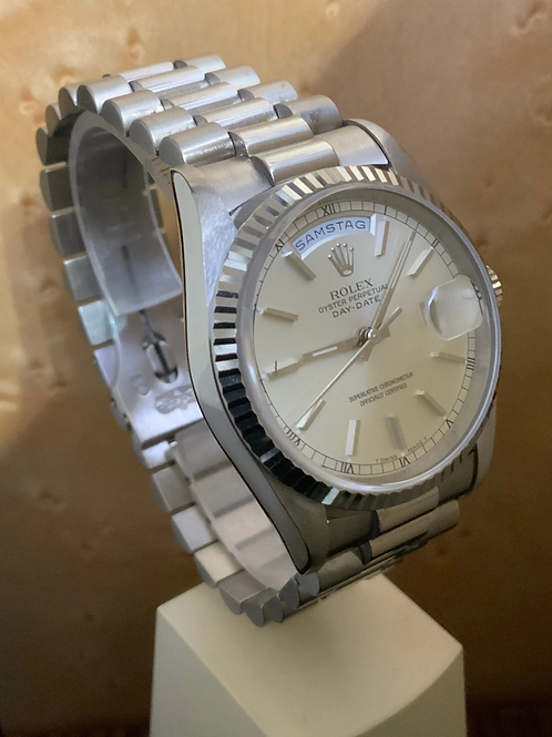 Rolex Day-Date 36 - Whitegold