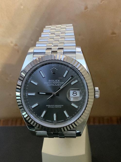 Rolex Datejust 41 - Rhodium