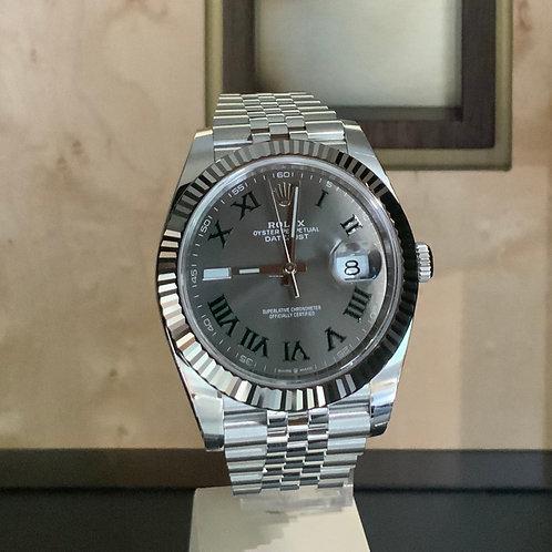 Rolex Datejust LC EU - Rhodium-Wimbledon