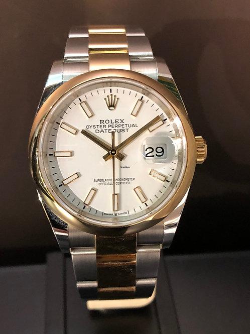 Rolex Datejust LC 100 - 36 Bicolor