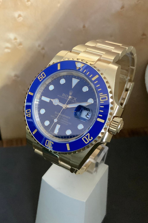 Rolex Submariner Date - Vollgold